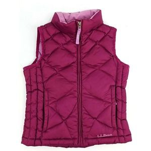 L.L.Bean Down Filled Puffer Vest